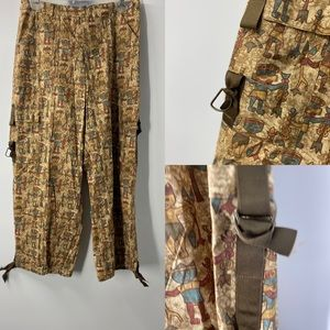 Peruvian Connections cropped pant AG